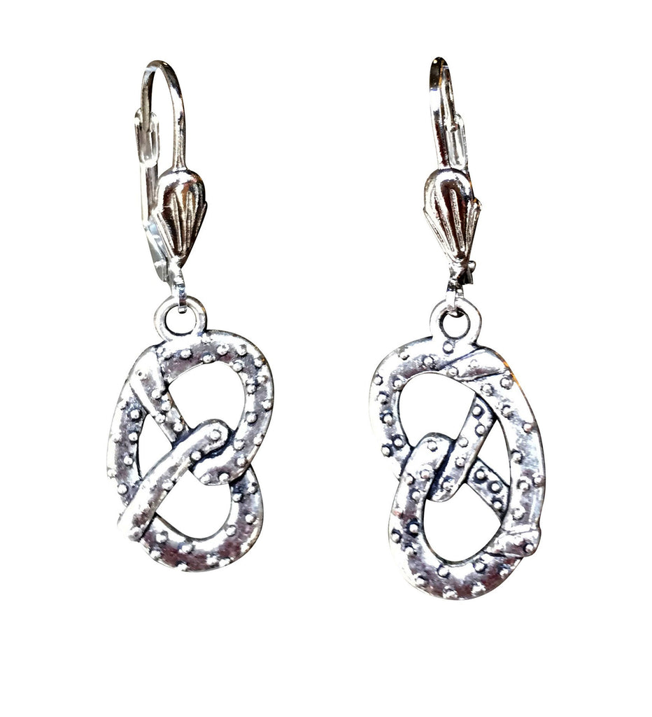 Pretzel Earrings - Rare Dirndl