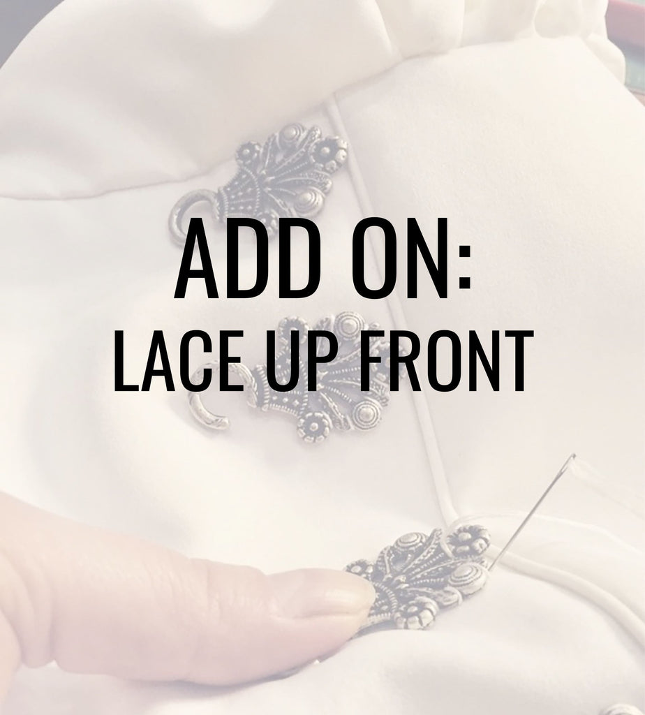 Add On: Chain Lace Up - Rare Dirndl