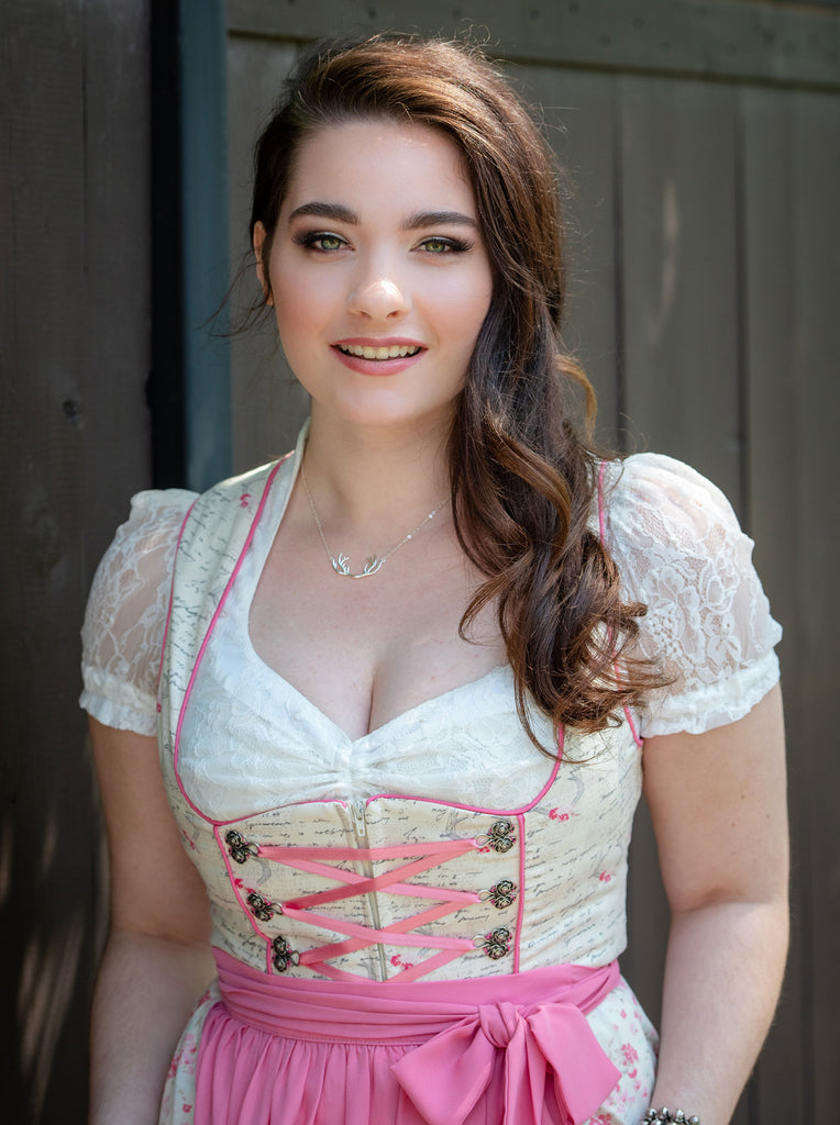 Lace Sweetheart Dirndl Blouse - Rare Dirndl
