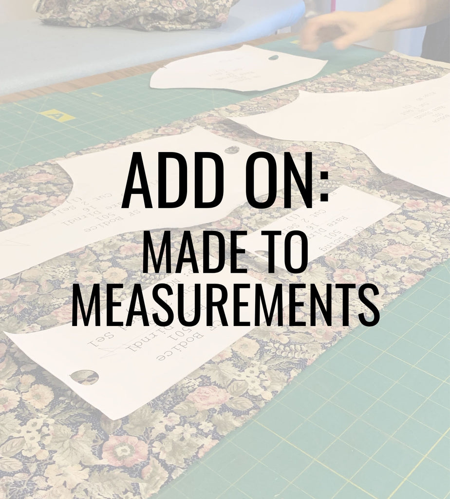 Add On: Made to Measurements - Rare Dirndl