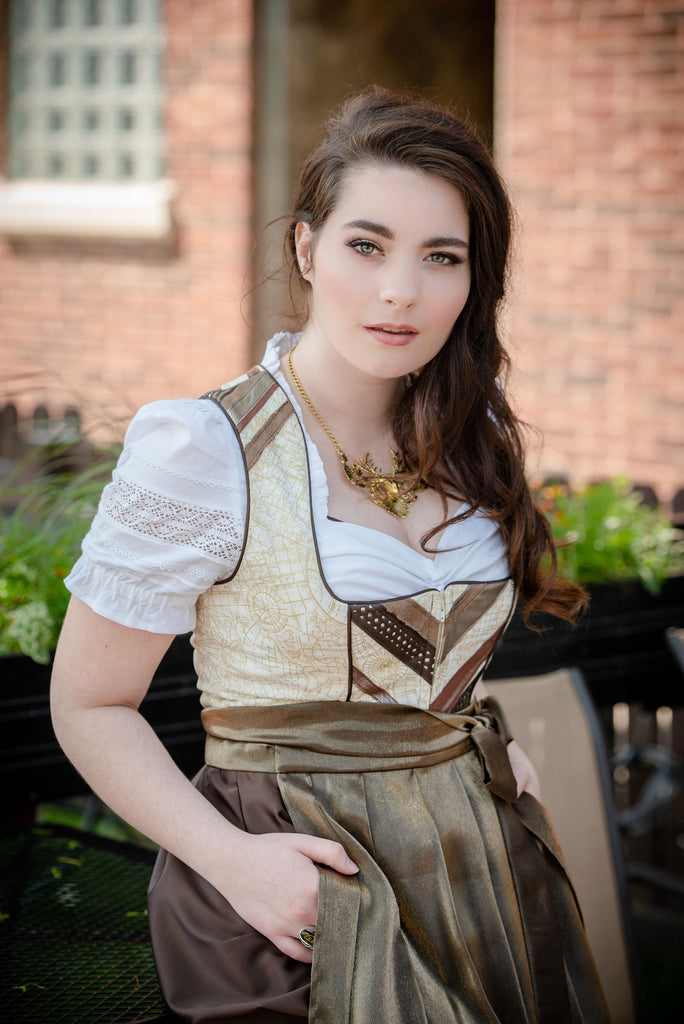 The Steampunk Dirndl - Rare Dirndl - Dirndl made in USA