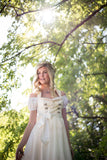 Bridal Dirndl with Semi-Sweetheart Neckline - Rare Dirndl