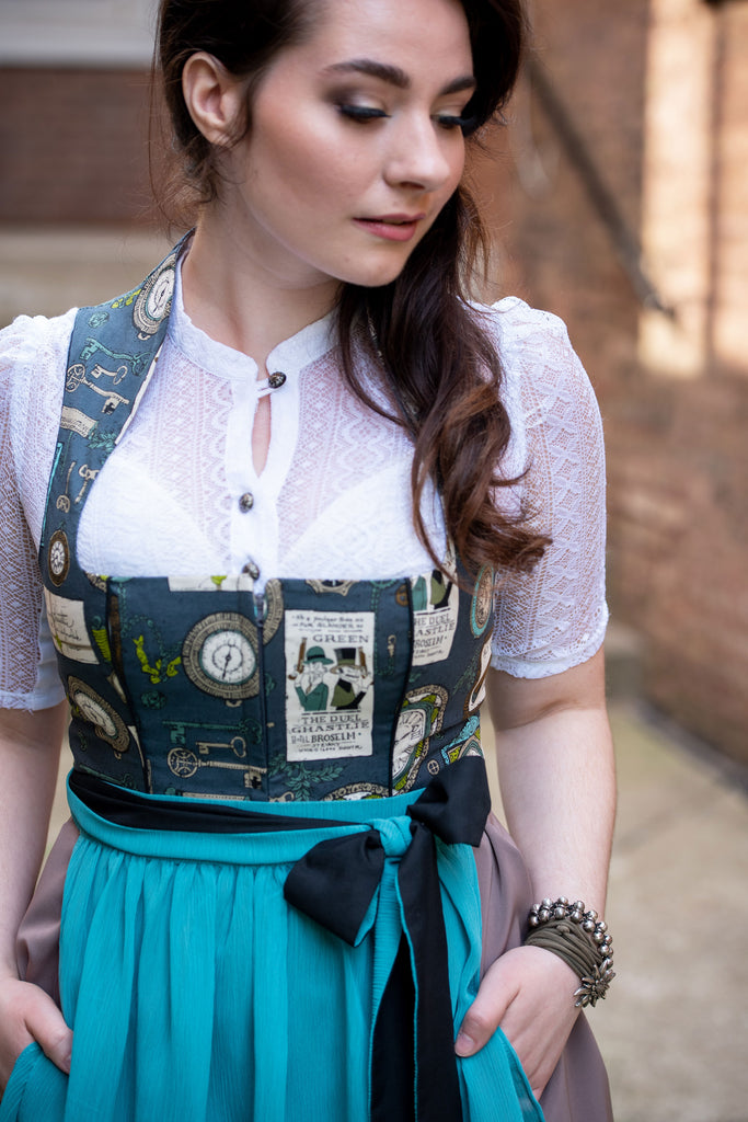 Time Traveler's Dirndl - Rare Dirndl - Dirndl made in USA