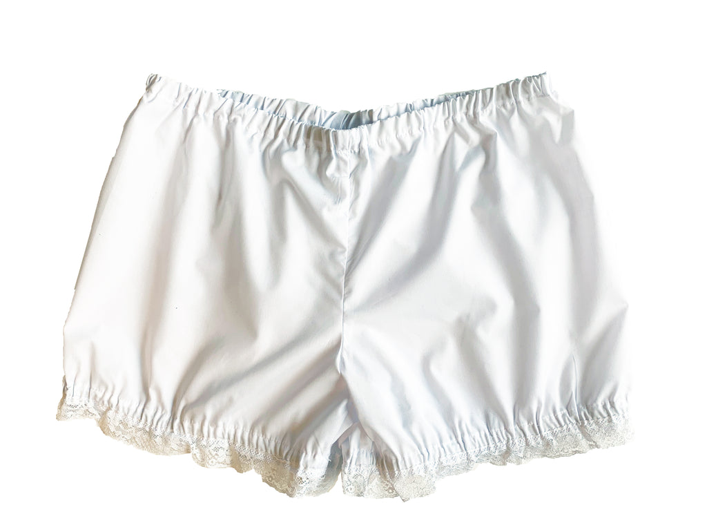 White Cotton Bloomers - Rare Dirndl - Dirndl made in USA