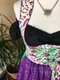One-of-a-Kind Dirndl | size 2 (batik) - Rare Dirndl