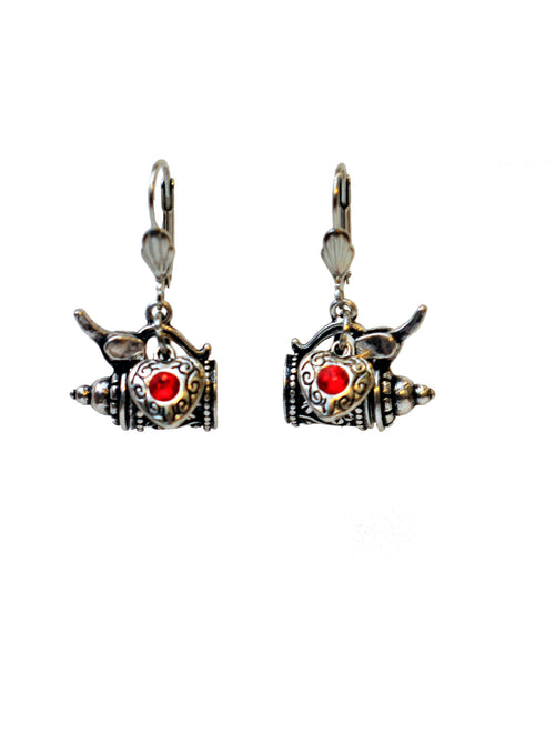 Beer Stein Earrings - Rare Dirndl