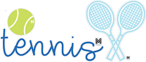 Tennis Sticker Set