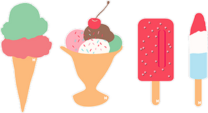 Ice Cream and Popsicle Pack