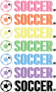 Soccer Stickers Set