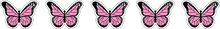 Load image into Gallery viewer, 5 Solid Butterfly Stickers