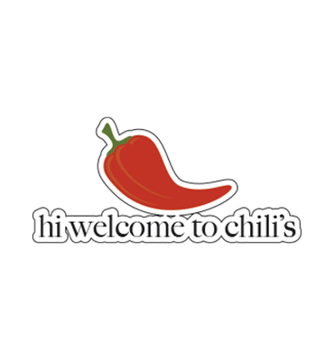 Hi, Welcome to Chili's Sticker