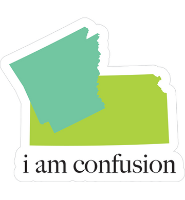I Am Confusion Sticker