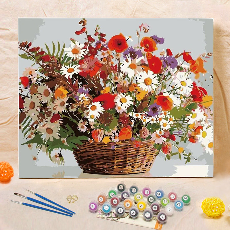 "DIY Painting By Numbers -Bouquet (16""x20"" / 40x50cm)"