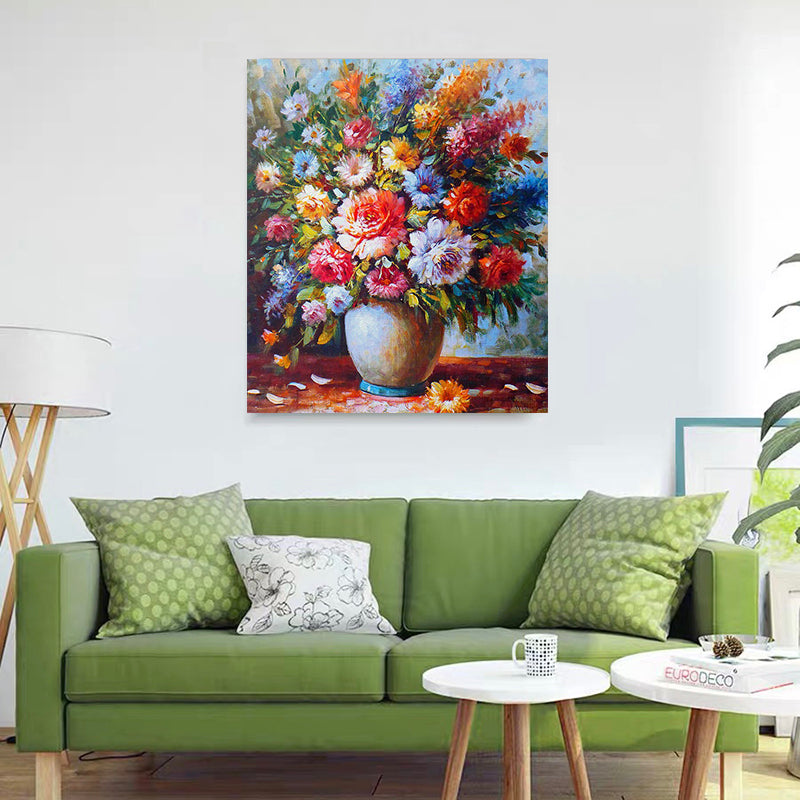 "DIY Painting By Numbers -Flowers-0223  (16""x20"" / 40x50cm)"