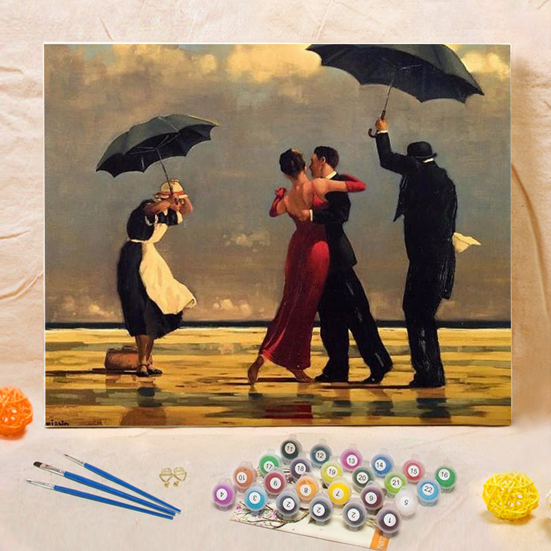 "DIY Painting By Numbers - Tango (16""x20"" / 40x50cm)"