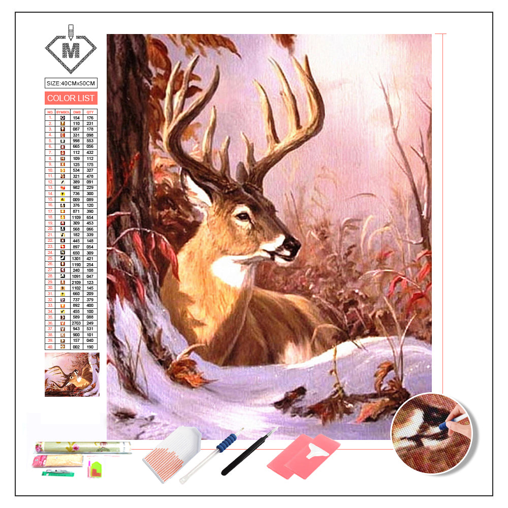DIY Diamond Painting Kit  - A deer