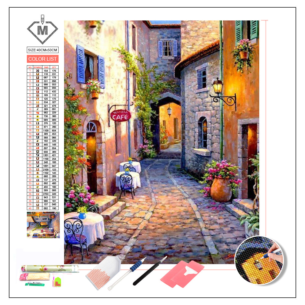 DIY Diamond Painting Kit  - Alley
