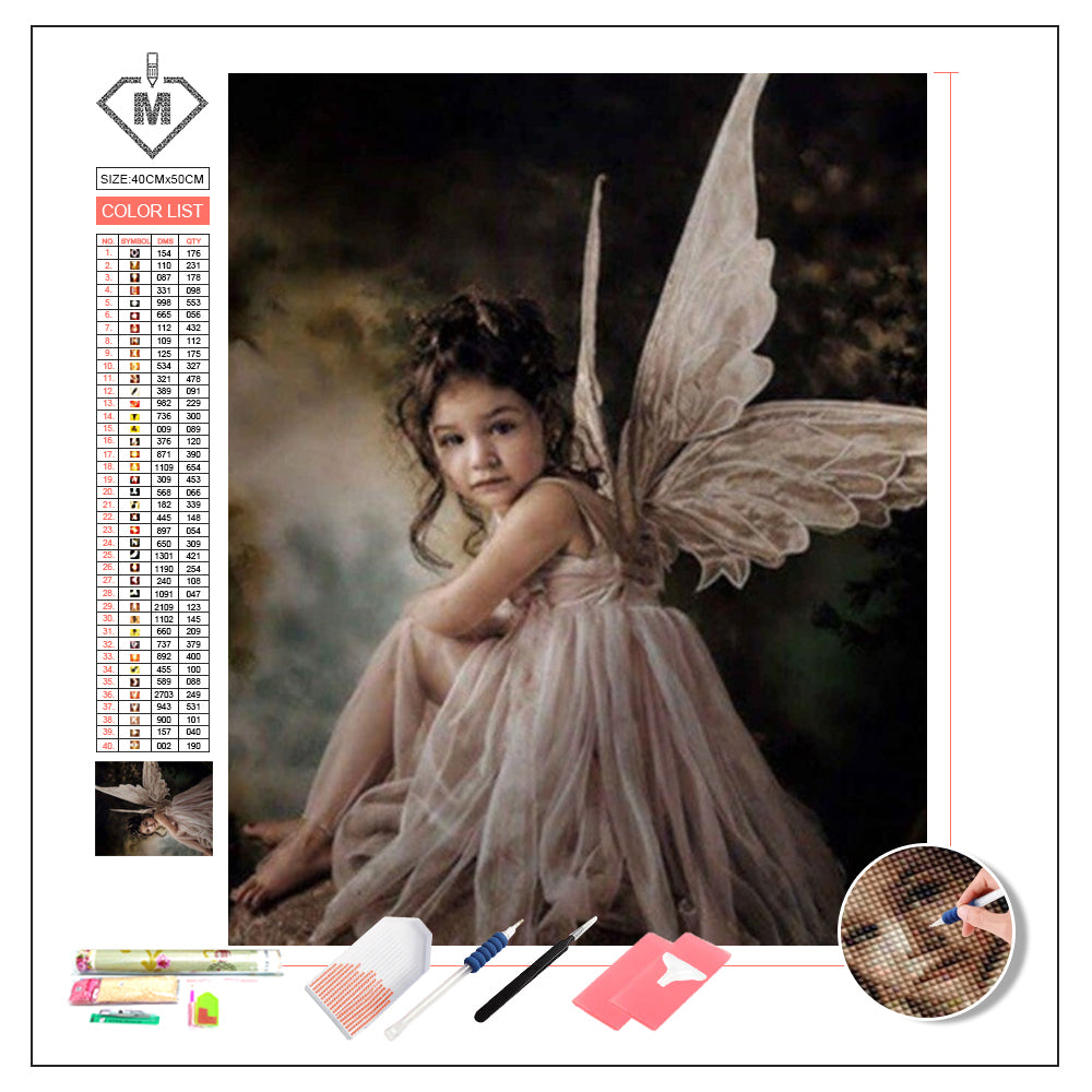 DIY Diamond Painting Kit  - Angel