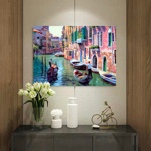 "DIY Painting By Numbers - Venice (16""x20"" / 40x50cm)"