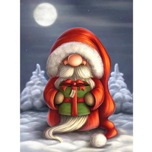 DIY Diamond Painting Kit  - Cute cartoon santa claus
