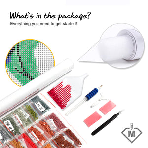 DIY Diamond Painting Kit  - Country
