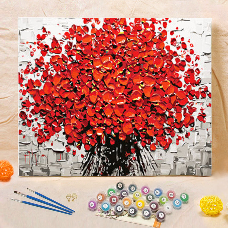 "DIY Painting By Numbers - Rose Bundle(16""x20"" / 40x50cm)"