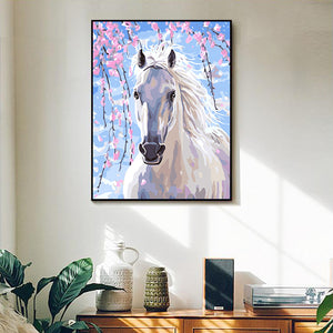 "DIY Painting By Numbers - Horse (16""x20"" / 40x50cm)"