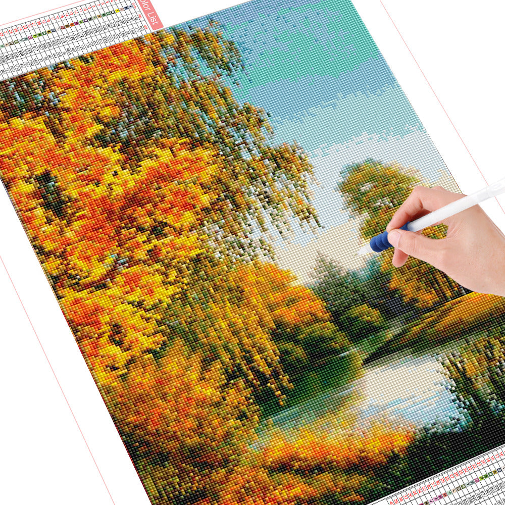DIY Diamond Painting Kit  - Autumn