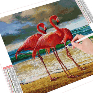 DIY Diamond Painting Kit  - Flamingo