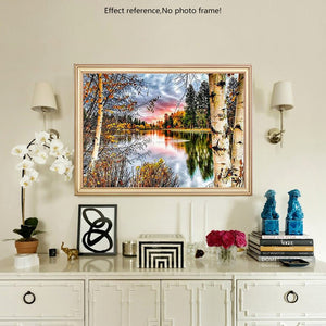 DIY Diamond Painting Kit  - Dead leaves