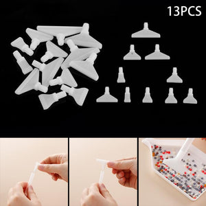 DIY Diamond Painting Kit  - 13pcs quick tool adapter