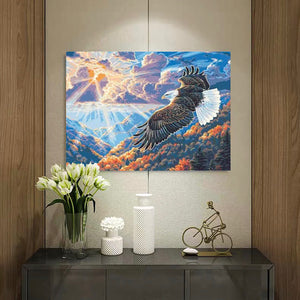 "DIY Painting By Numbers -Eagle  (16""x20"" / 40x50cm)"