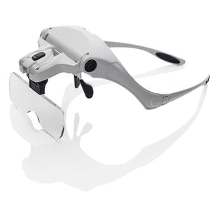 Illuminated Head Magnifier
