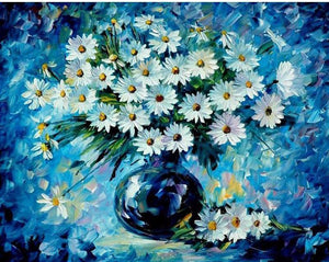 "DIY Painting By Numbers - Daisy (16""x20"" / 40x50cm)"