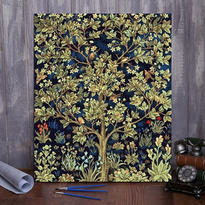"DIY Painting By Numbers -Tree Of Life (16""x20"" / 40x50cm)"