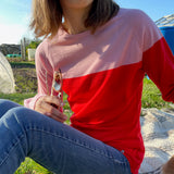 Foxology Pink & Red Base Layer Top
