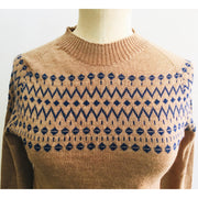 SAMPLES - JACQUARD JUMPERS