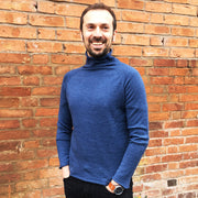 Mens Merino Turtle Neck Top