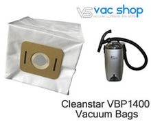 Load image into Gallery viewer, Cleanstar VBP1400 vacuum cleaner bags