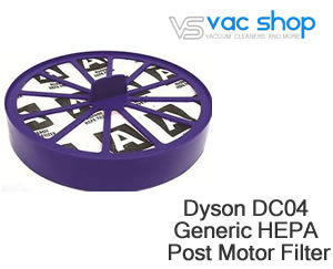Dyson DC07, DC14 hepa filter
