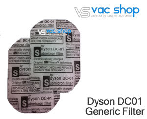 Dyson DC01 filters