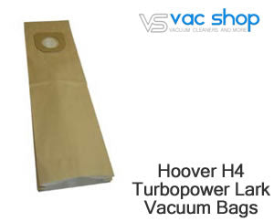 Hoover H4 turbo power lark vacuum cleaner bags