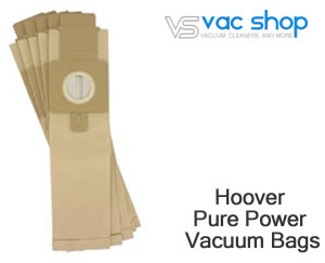Hoover Pure Power Upright Vacuum Cleaner Bags