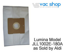 Load image into Gallery viewer, Lumina JLL1002E by aldi vacuum cleaner bags