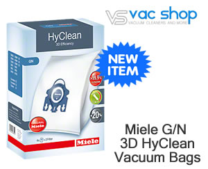 Miele 3D Genuine G/N Vacuum Cleaner Bags