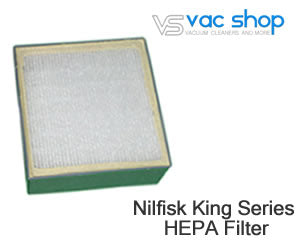 Nilfisk King Series HEPA vacuum filter