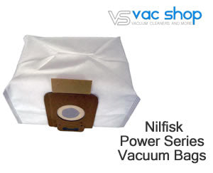 Nilfisk Power Series vacuum bags