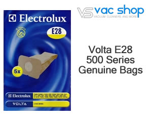 Volta E28 500 series Genuine Vacuum Cleaner Bags