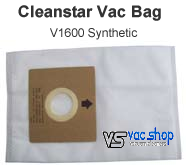 Cleanstar v1600 Vacuum Cleaner Bags
