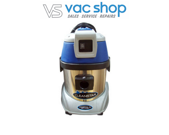 Cleanstar 15L Commercial Wet N Dry Vacuum – Stainless Steel VC15L